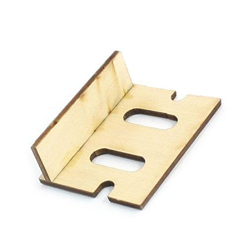 5cm x 4cm x 1.7cm Houten Bevestigingssteun voor RC Boot Model Ontvanger