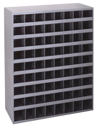 Durham 350-95 Cold Rolled Gray Steel 72 Opening Bin, 33-3/4