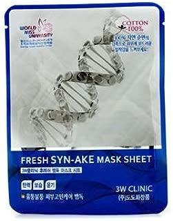 3W Clinic 3w clinic mask sheet - fresh syn-ake, 1