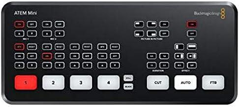 ATEM Mini Blackmagic Design HDMI Live Stream Switcher (Authorized Reseller)
