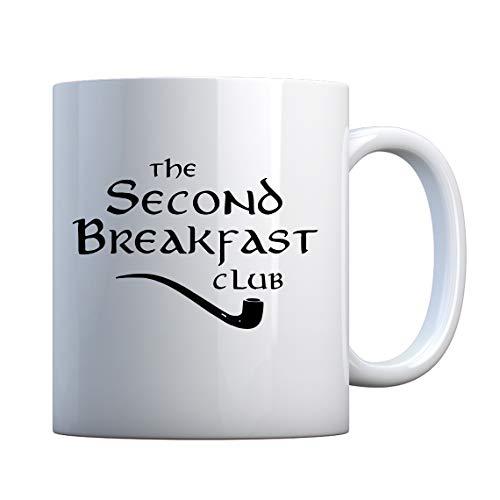 Mug Second Breakfast Club 11oz Pearl White Gift Mug