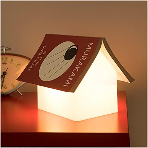 SUCK UK Lampada Poggialibro (Universale), Bianco, 1