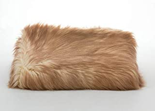Tourance Lux Faux Fur Throw in Lion's Mane