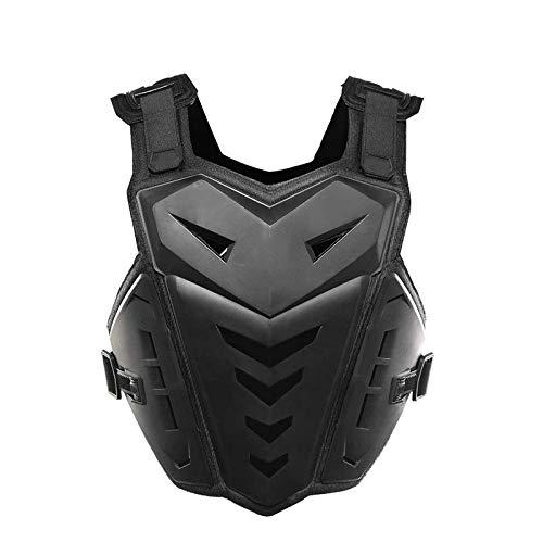 Chaqueta protectora de motocicleta Off-Road Armadura de seguridad Equipo de protección a prueba de golpes transpirable Protector de pecho Motocross Cuerpo Armadura