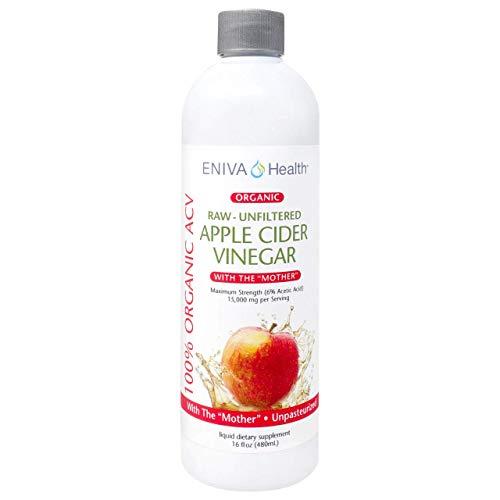100% Organic Apple Cider Vinegar with the