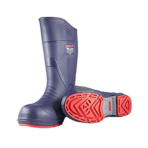 TINGLEY 26256.1 26256 SZ10 Footwear: Boots-Rubber Safety Toe, 10, Blue
