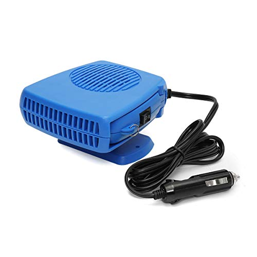 GNY Heizlüfter 200W DC 12V tragbare Auto Keramikheizung Chilling Heizung Lüfter Defroster Demister Auto...