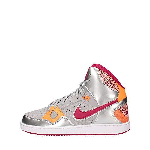 Scarpe Nike bambini ragazzi Donna Son of Force Mid FLT SLVR/brght mgnt-mtllc SLVR, 7.5