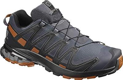Salomon XA Pro 3D V8 GTX Men's Trail Running / Hiking Shoe, Ebony/Caramel Cafe/Black, 11.5 EE - Wide