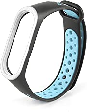 LVYIMAO Cinturino per Xiaomi Mi Band 4, applicabile Millet Bracelet 4 Wristband Sport Wristband poroso traspirante cinturino di ricambio