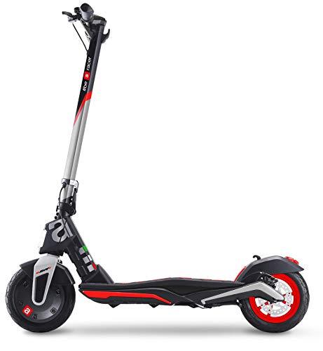 Aprilia eSR1 - Patinete eléctrico, chasis de magnesio, 15,5 kg, Motor de 350 W sin escobillas, autonomía de hasta 25 km. Ruedas de 10 Pulgadas sin Tubos, Carga máxima de 100 kg, batería de 36 V