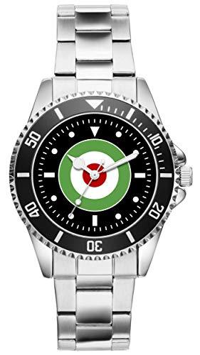 KIESENBERG Uhr - Iran Teheran Islam Luftwaffe Geschenk Artikel Idee Fan 20901