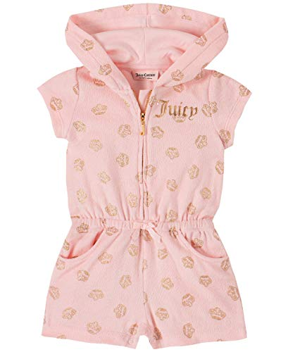 Juicy Couture Baby Girls' Romper, Pink, 12M