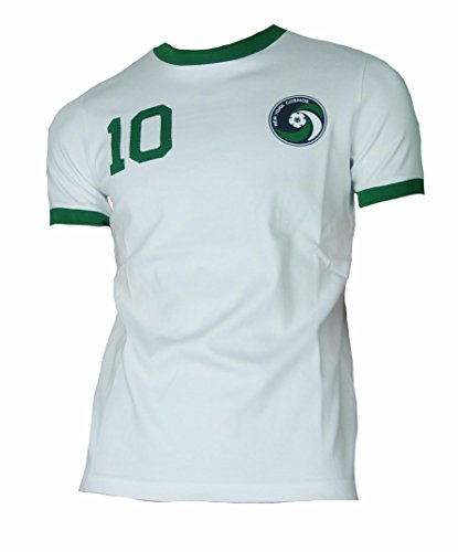 UMBRO Cosmos New York Retro Pelé Trikot 1976 White (L)