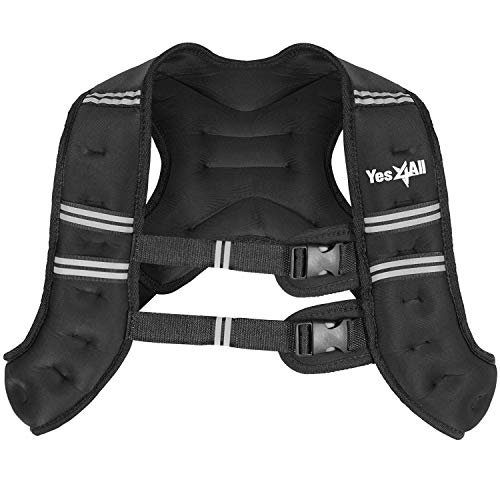 Yes4All Workout Weighted Vest – 10lb Exercise Weighted Vest for Strength Training,...