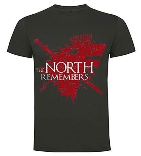Foreverdai Camiseta North Remembers - Stark - Juego de Tronos