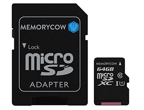 Kingston 64GB Micro SD XC Speicherkarte Für Sony Xperia Z1 Compact