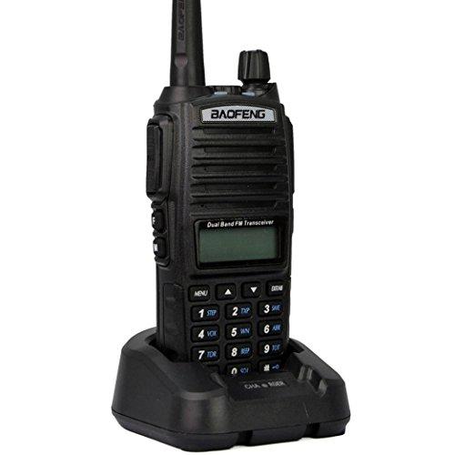 Baofeng UV-82 136-174/400-520 MHz Radio schwarz