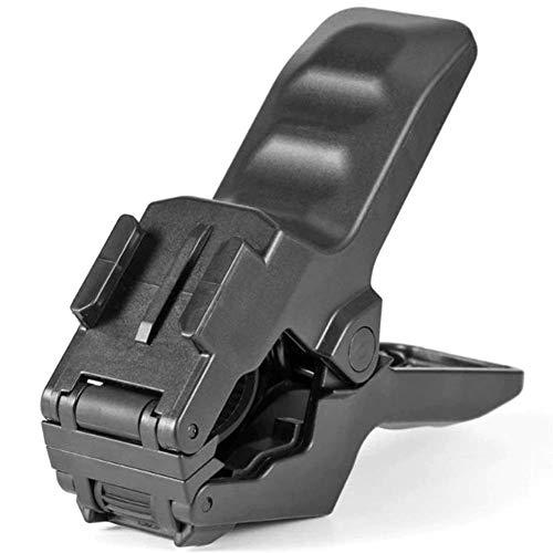 GzxLaY Mordazas portátiles a estrenar Abrazadera Flexible 4K Abrazadera para cámara Deportiva Clips de Montaje para GoPro Hero 1 2 3 3+ 4 Accesorio para cámara de acción. (Color : Black Color)