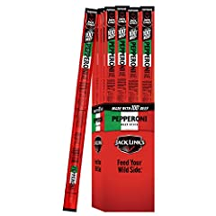 24 Pack (1.5oz) Pepporoni Beef Sticks 8g of Protein & 1g of Sugar Per Serving 100% Premium Beef Pepperoni Perfect Everyday Snack