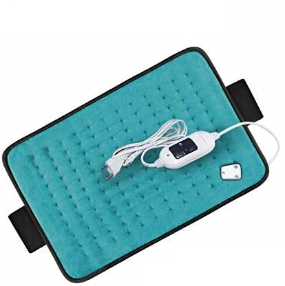 MCP Velvet Heat Therapy Orthopaedic Pain Reliever Electric Heating Pad for Joints, Muscle, Back, Leg, Shoulder, Knee, Neck (with Auto Temperature Controller)