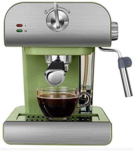 Coffee Brewing 20Bar 800ml Tanque de agua Estilo retro Casa Pequeña Máquina espresso de acero inoxidable semiautomáticas semiautomáticas con leche Frecuencia de la leche para el restaurante Cocina ver