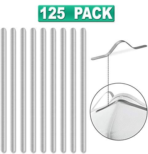 125 tiras de aluminio para la nariz, para hacer máscaras,