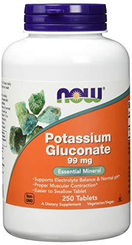 Now Foods -   Potassium Gluconat