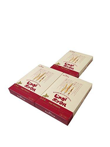 【北海道限定】じゃがポックル(薯條三兄弟) 大 10袋入り / お土産袋付き / 複数注文可能 /ポテトファーム (3個)