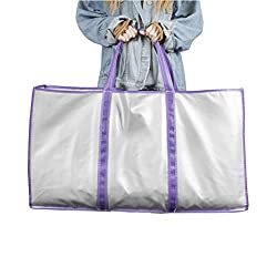 CroSight Special Storage Bag for Far Infrared Sauna Blanket, Tailored for Infrared Sauna Blankets, 33.5inX17.8in, Extra Large Storage Bag (Purple)