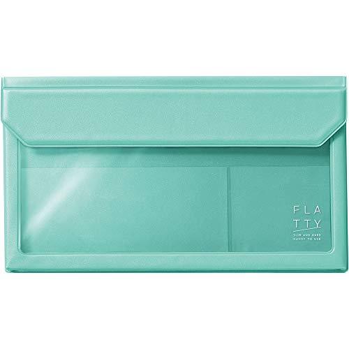 キングジムバッグインバッグFLATTY封筒サイズミントグリーン5362ミン