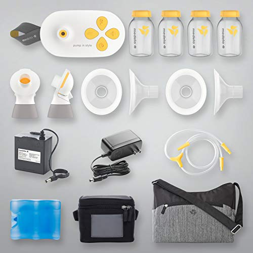 New Medela Pump in Style with MaxFlow, Electric Breast Pump Closed System, Portable Breastpump, 2020 Version