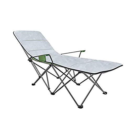 REWD Tumbona sillón, silla de salón transpirable de gravedad cero, silla de salón portátil con cojín para terraza, baño, playa, almuerzo, etc.