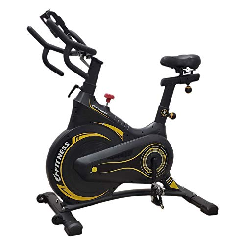 FFitness Indoor Spinning Bike Carenata con Freno Magnetico e Volano 13kg | Bicicletta Cycling per Allenamento in Casa