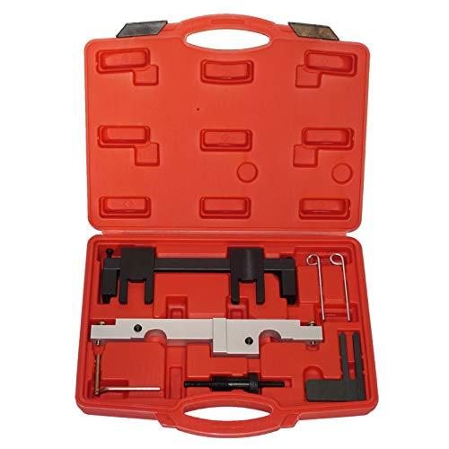 BMOT Arretierung Einstellen Nockenwelle Kurbelwelle Set Motor-Einstellwerkzeug Set 8257 BMW N43 E60 E90 E91 E92 120i 320i