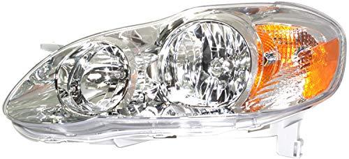 08 corolla headlight assembly - 6