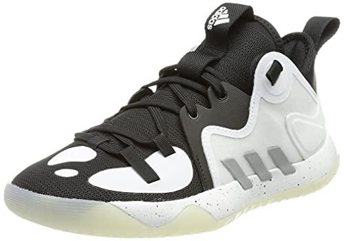 adidas Harden Stepback 2 J, Zapatillas de Baloncesto, NEGBÁS/Plamet/FTWBLA, 40 EU