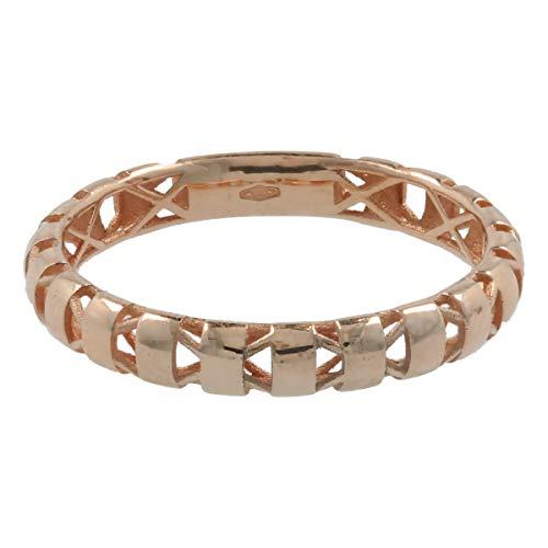 Gioiello Italiano - 14kt gouden ring met banden