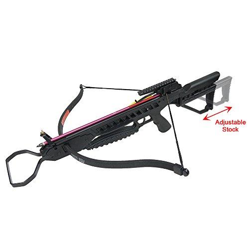 175 lb Black Hunting Crossbow Archery Bow