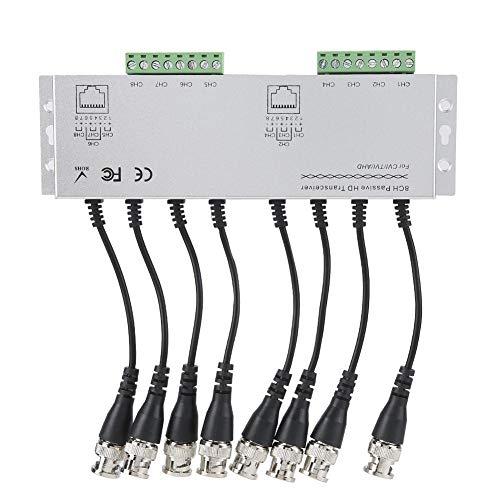 Video Balun Para 8CH HD AHD TVI Sistema de Cámara CVI Compatible Con Todos Los CCTV Macho A UTP Cable Transceptor Adaptador Video Baluns Transceptor Pasivo