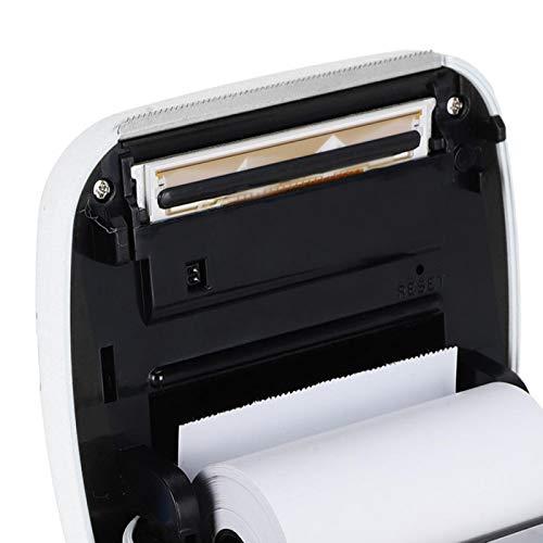 Mini Impresora HD de 8.8 x 8.5 x 3.7 para impresión en Red(White, Pisa Leaning Tower Type)
