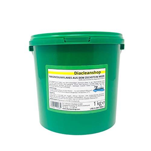 Zechstein Inside Magnesium Flakes 1kg aus dem Zechsteinmeer - Magnesiumkristalle aus Magnesiumchlorid - u.a. zur Herstellung von Magnesium Fußbad, Magnesium Vollbad uvm
