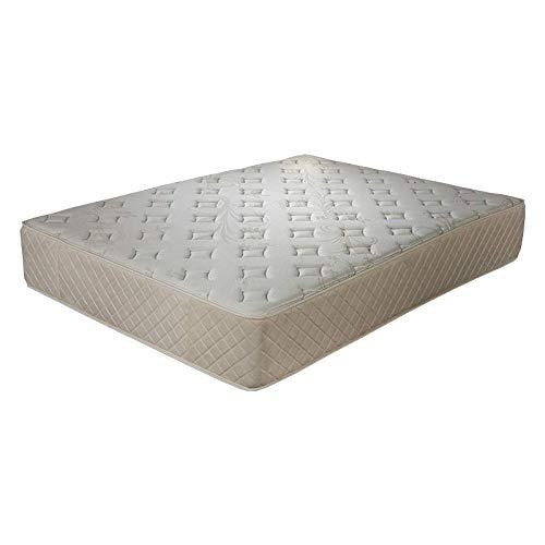 ECCOX - Viskoelastische Matratze Cashmere Comfort - Höhe 30 cm - Eco Sense HR-Kern mit hoher Dichte - Viscosoft Soft Comfort Memory Foam Matratze - Mittelhohe Festigkeit (135x180 cm)