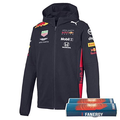 PUMA Red Bull Racing Team 2019 - Sudadera con Cremallera y azucarero Fangy (Talla XL)