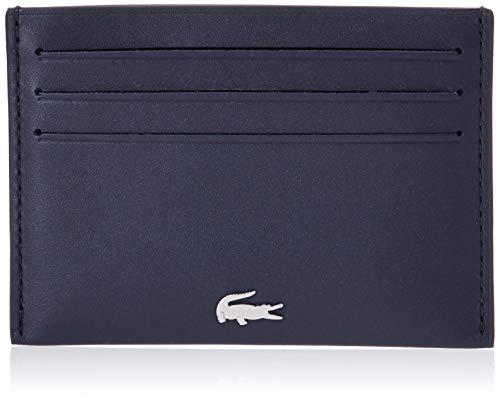 Lacoste Nh1346fg Porte-Cartes de Credit Femme, Bleu (Peacoat), 0.5x7.5x11 cm (W x H x L)