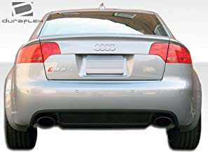 Brightt Duraflex ED-HLD-548 RS4 Wide Body Rear Bumper Cover - 1 Piece Body Kit - Compatible With A4 2006-2008