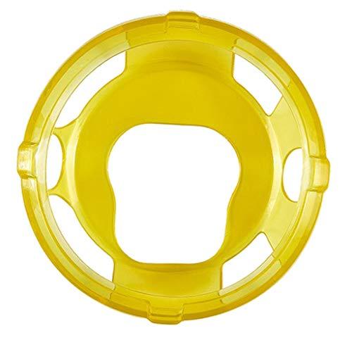 Homyl Capa Protetora De Silicone Macio Para Suunto Spartan Sport Wrist HR Baro - Amarelo claro