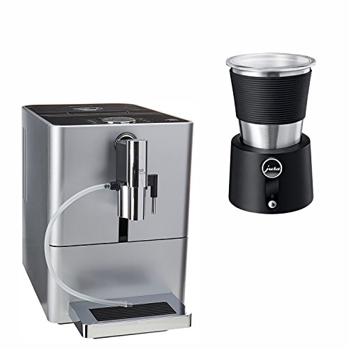 For Sale! Jura 15116 ENA Micro 90 Espresso Machine, Micro Silver with Automatic Milk Frother