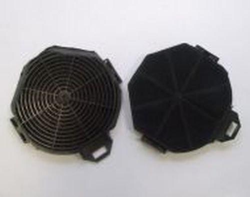 Original Bomann Aktivkohlefilter 256400 2-tlg Set für Dunstabzugshaube DU 654 G Kohlefilter Filter Kohleaktivfilter Abzugsfilter