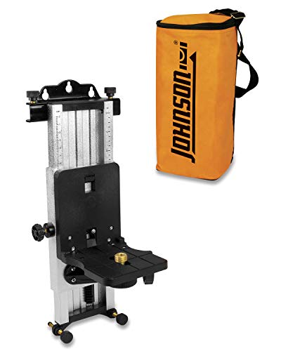 Johnson Level & Tool Pro 40-6304 Multi-Function Mount for Laser Levels with Softsided Carrying Bag